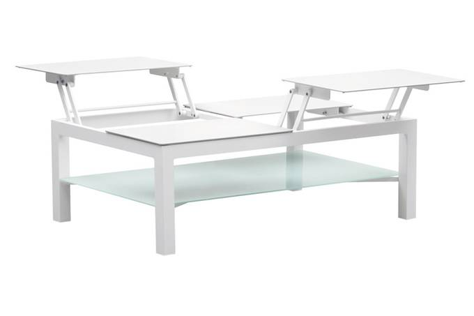 Table basse de jardin en aluminium - JELLY