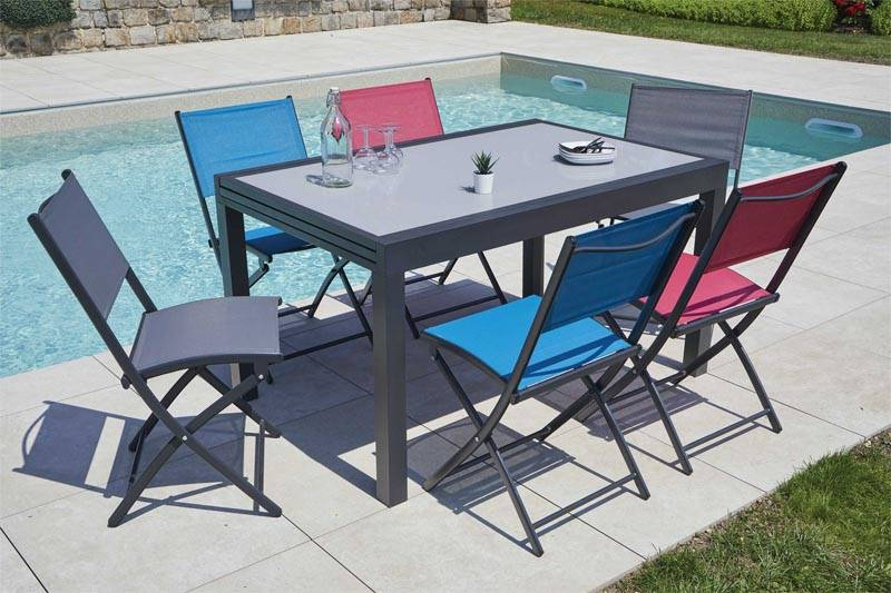 Table extensible en aluminium - FANCY